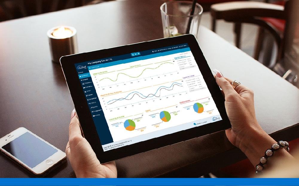 Toma el control de tu negocio en cualquier lugar con Bind ERP.
