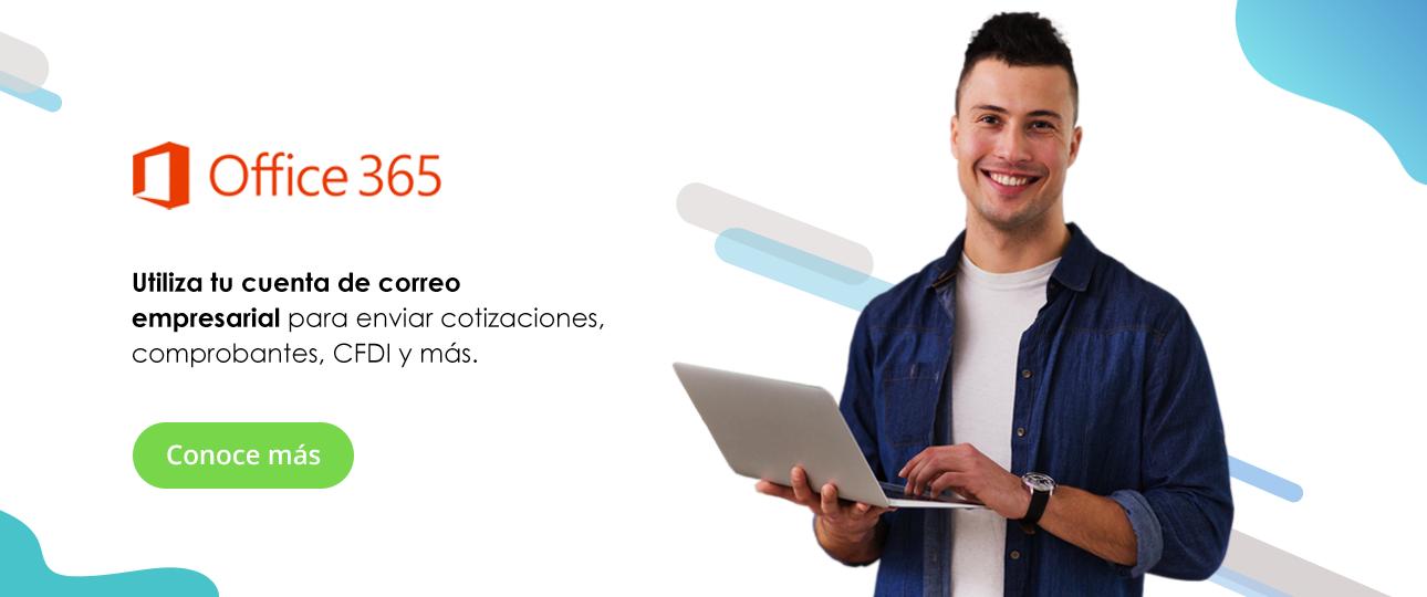 Envía cotizaciones con Bind ERP y Office 365
