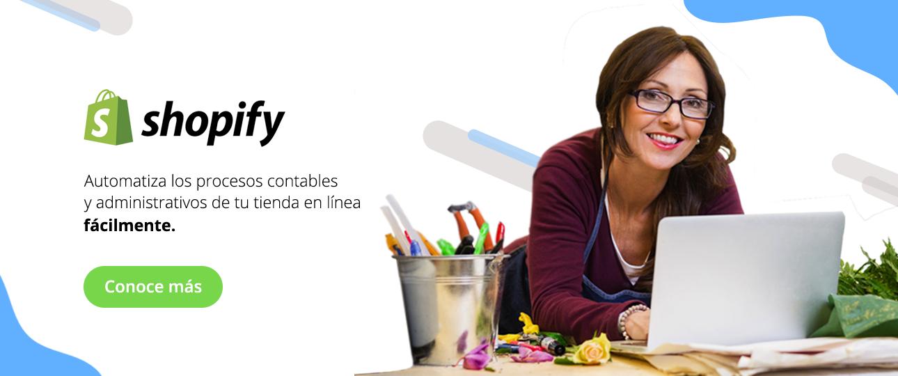 Administra tu tienda Shopify con Bind ERP