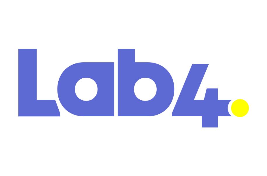 Logotipo de Lab4, aliado de Academia de Negocios Bind