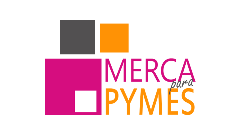 Logotipo de Merca para PYMES, aliado de Academia de Negocios Bind