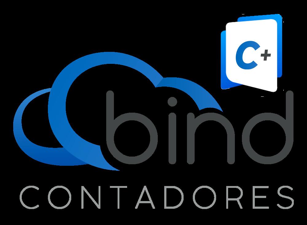 Logotipo de programa de contadores de Bind ERP